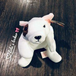 Vintage Ty Beanie Baby Butch Dog Toy